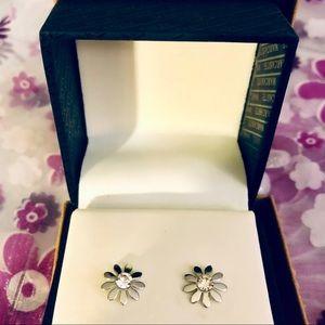 🍭BUY 1 GET 1 FREE🍭 Silver Flower Stud Earrings
